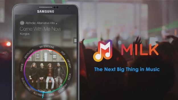 Milk Music - AndroidVenture.com